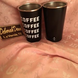 Starbucks Reserve Stainless Coffee Cups